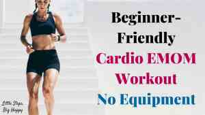 Beginner-Friendly Cardio EMOM Workout - No Equipment