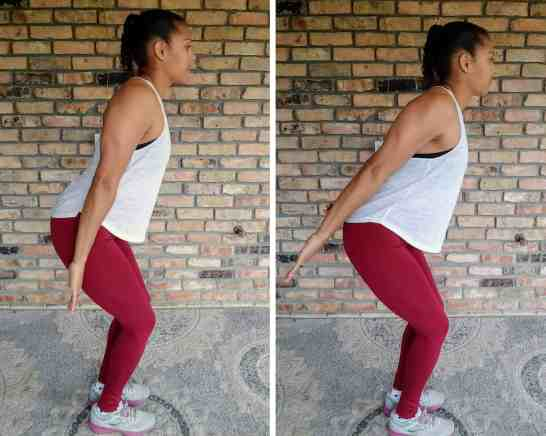 Tricep push back - 20 Min Tabata Workout for Beginners: Abs & Arms
