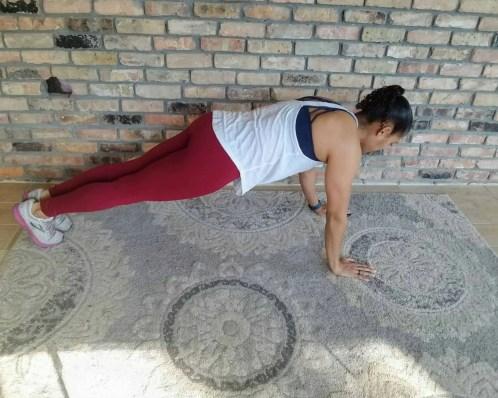 Lateral Plank Walks Beginner HIIT Workout No Equipment