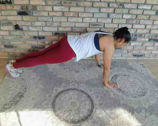 Plank Hold - Quick Beginner Full-Body Workout - No Equipment