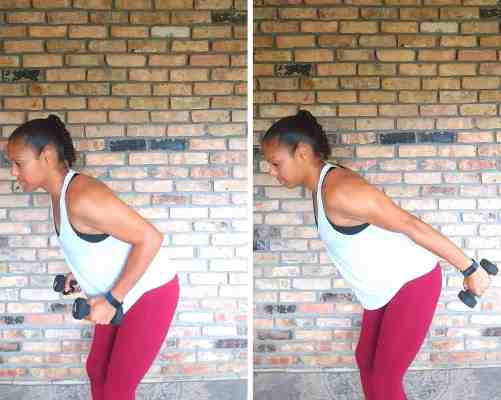 Tricep Kickbacks - Exercises for flabby arms