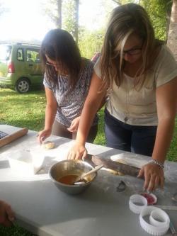 Cours de cuisine sur la pâte sablée