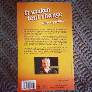 """Résumé de """"Et soudain tout change"""" de Gilles Legardinier"""