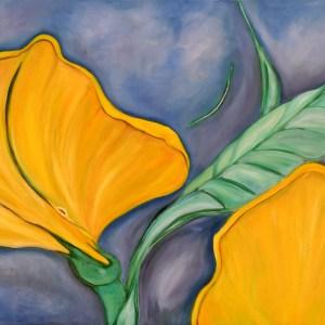 Luna Sconty, Oil on Canvas, original, unit, art, artist, Kunst