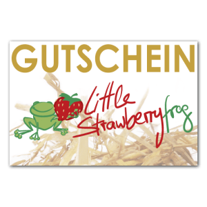 Gutschein Little Strawberryfrog shop