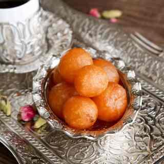 Middle Eastern Sweet Dumplings (Awameh)