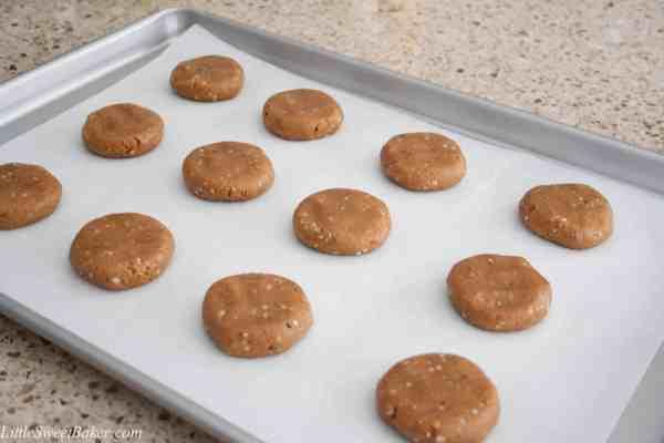 gluten-free cashew butter cookies-1