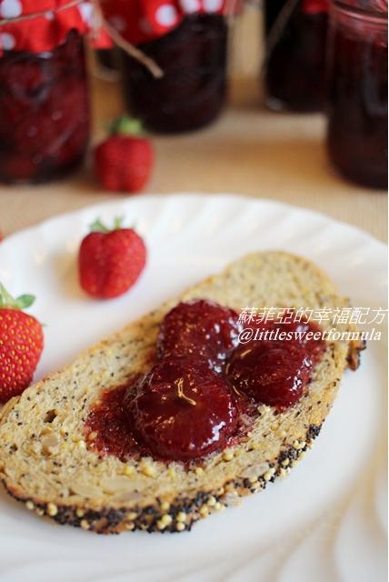 自製經典法式草莓果粒果醬   蘇菲亞的幸福配方