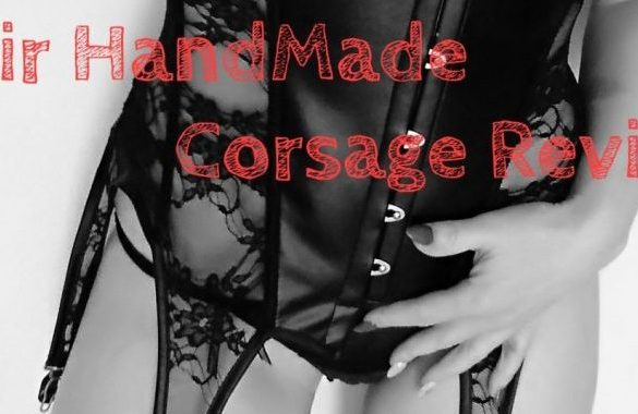 Noir Handmade Corsage (Corset)