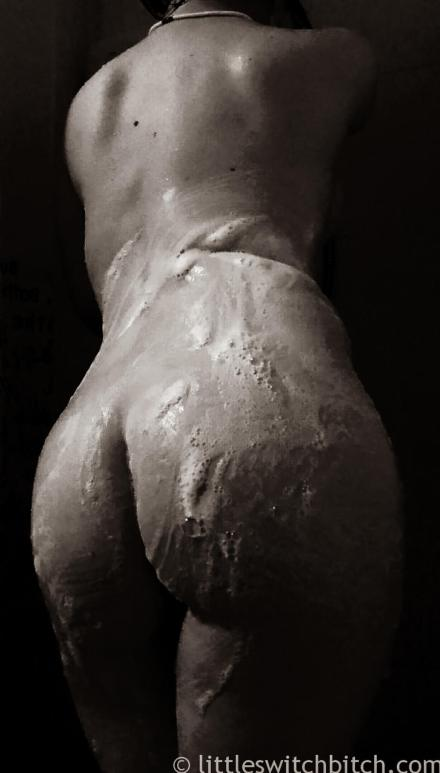 soaped up in the shower for day twenty of feb photo fest