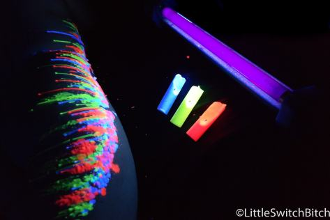 UV wax play