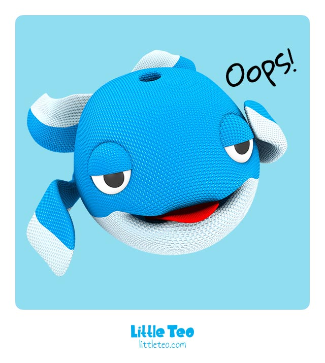 Oops my mistake | ADORABLE CUTE CHARACTER STORY PICTURE