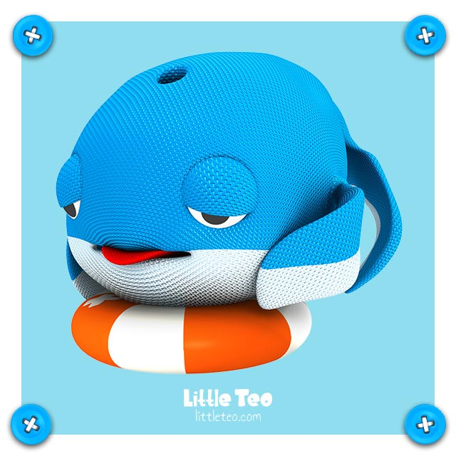 Cute lonely whale | ADORABLE CUTE CHARACTER STORY PICTURE