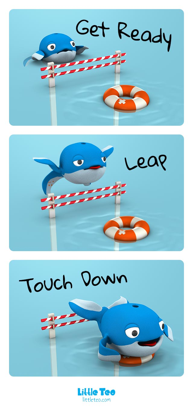 Cute whale jump | ADORABLE CUTE CHARACTER STORY PICTURE
