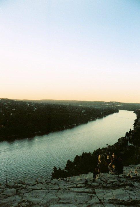 Mount Bonnell at sunset, Austin, Texas