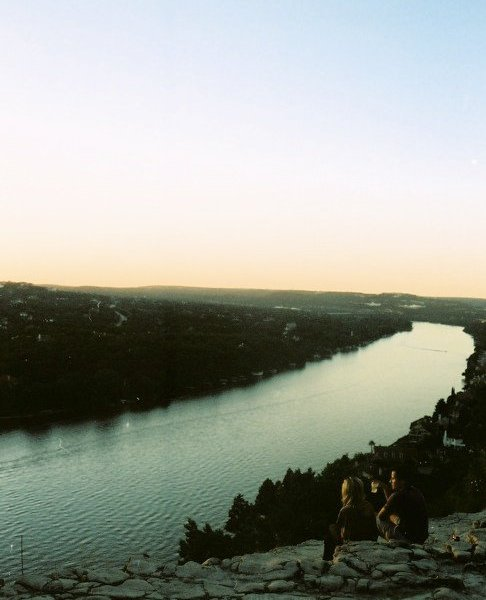 Mount Bonnell at sunset, Austin, Texas