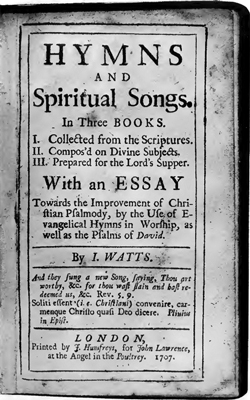 page-of-watts-first-hymnal