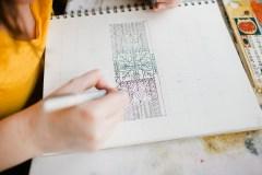 Drawing artwork