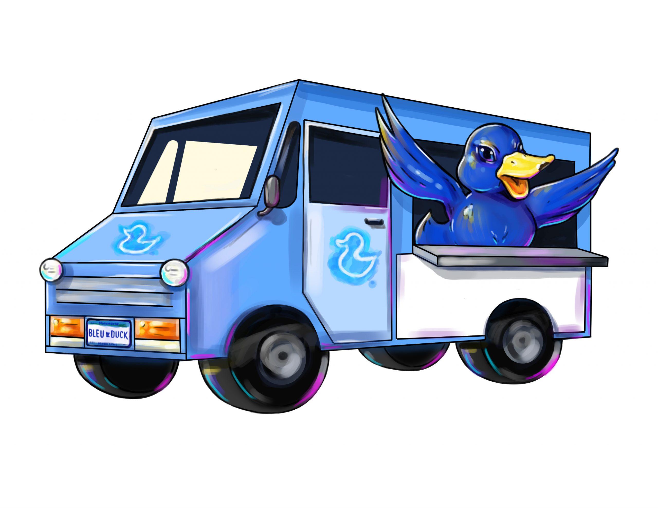 Bleu Duck Truck