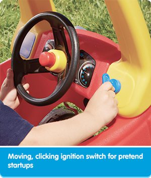 Little Tikes ignition switch