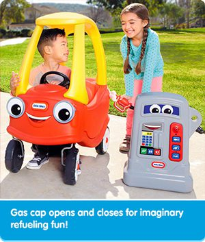 Refuelling Little Tikes Car