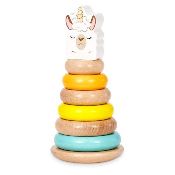 Wooden Criters Shape Stackers Developmental Toys Unicorn