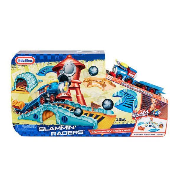 Slammin Racers Runaway Railroad Pack