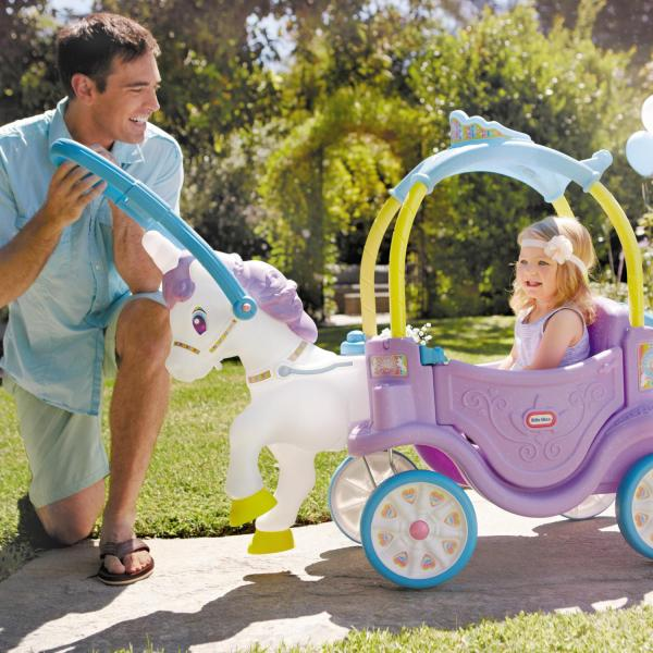 little tikes carriage