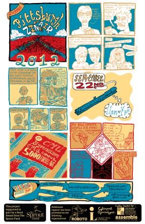 2012 PGH Zine Fair Poster_Color