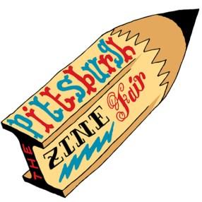 Pittsburgh Zine Fair Logo 2012