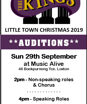 Available Roles for Three Kings 2019