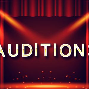 Audition Day and Times Set..