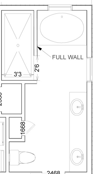 Walk In Shower Dimensions