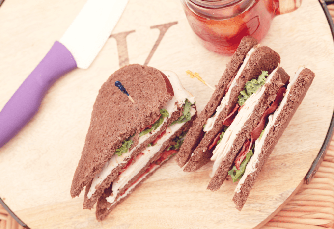 The Healthy Triple Decker With Oscar Meyer Selects!