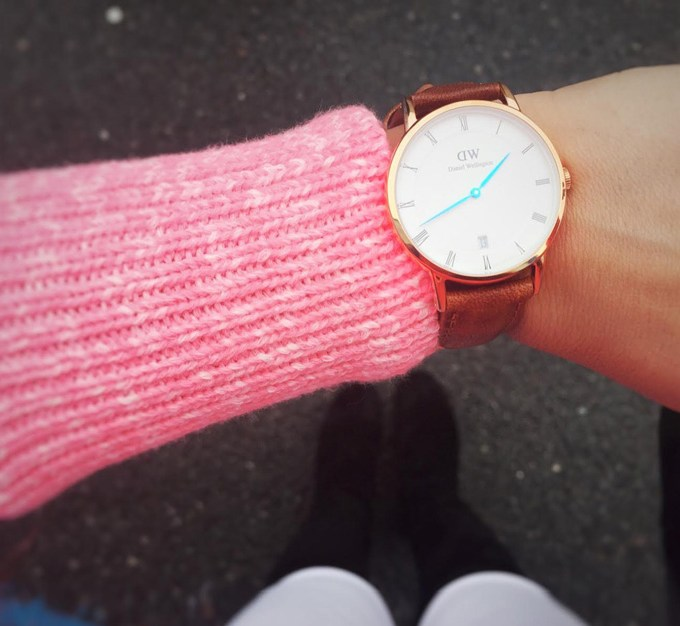 Spending the holidays with Daniel Wellington