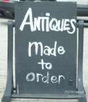 ANTIQUES MADE TO ORDER? REALLY?