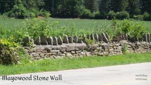 Stone Wall surrounds much of the property