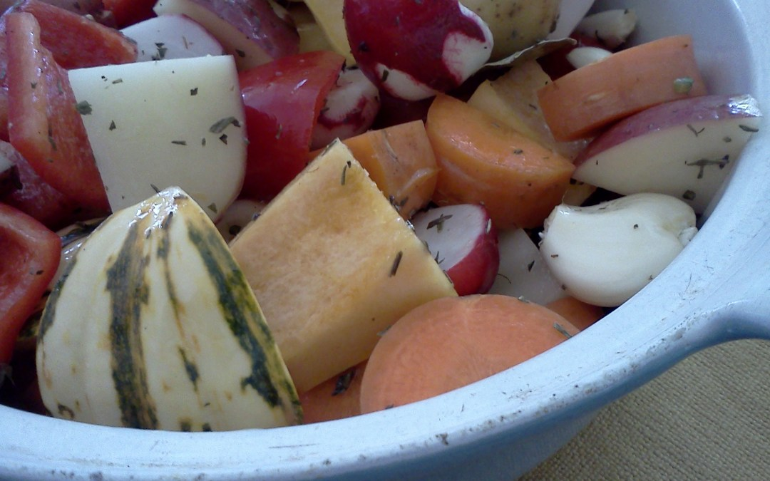 Colorful Roasted Vegetables with Thyme