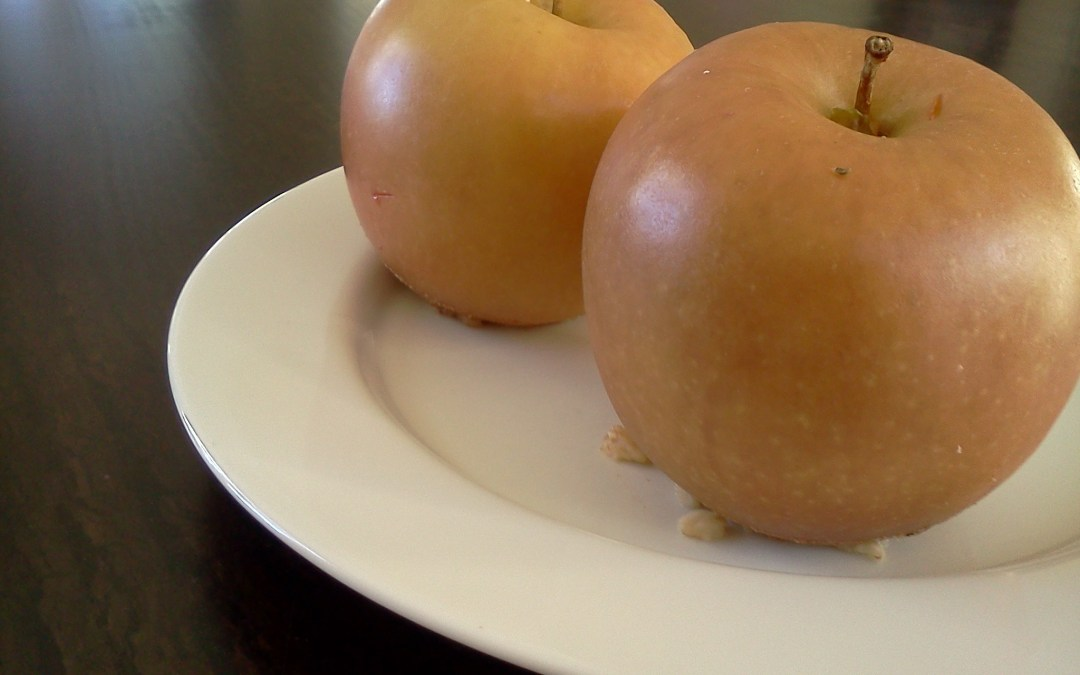 Baked Apples with Cinnamon Oat Filling