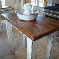 Kitchen Island Rustic Ovens Little Vintage Nest