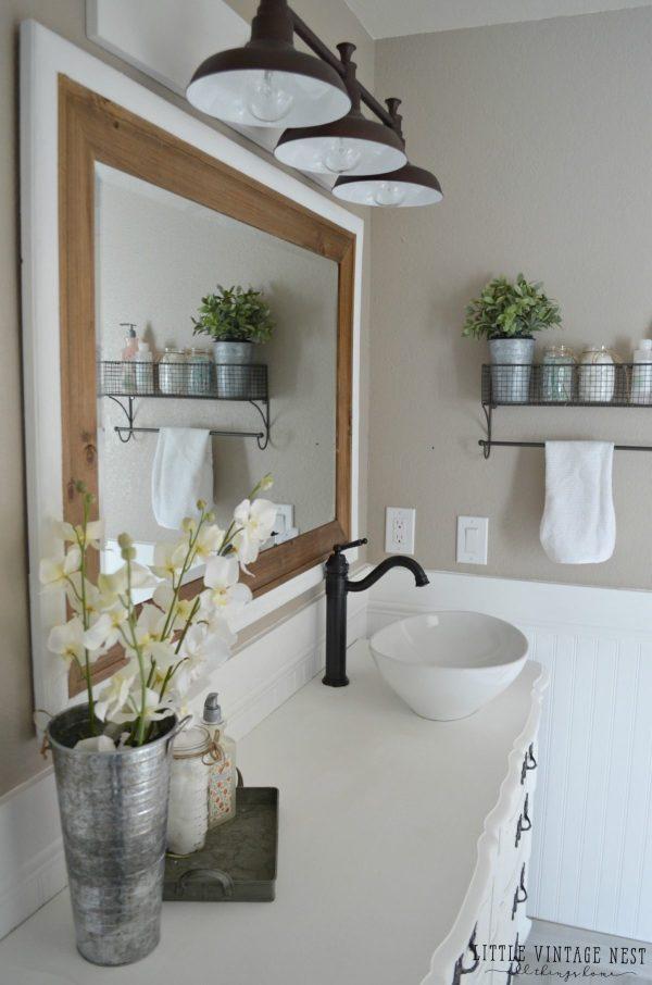 Farmhouse Master Bathroom Ideas