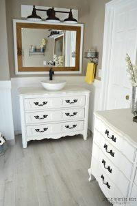 Antique Dresser Bathroom Vanity   Antique Furniture
