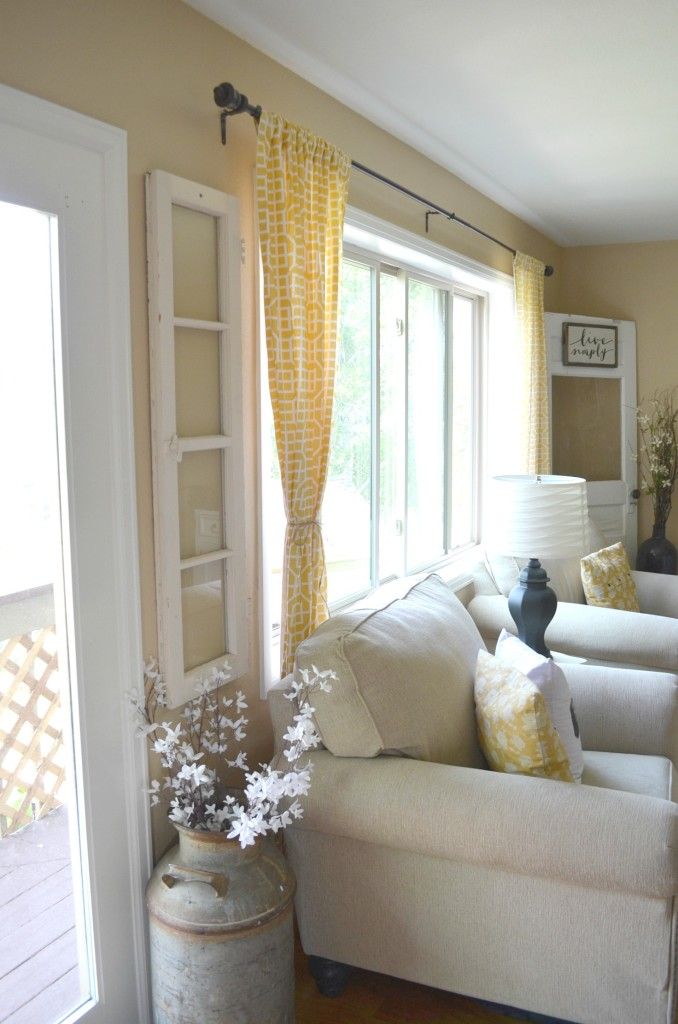 decorating a long narrow living room small curtain designs 4 ways to decorate with old windows