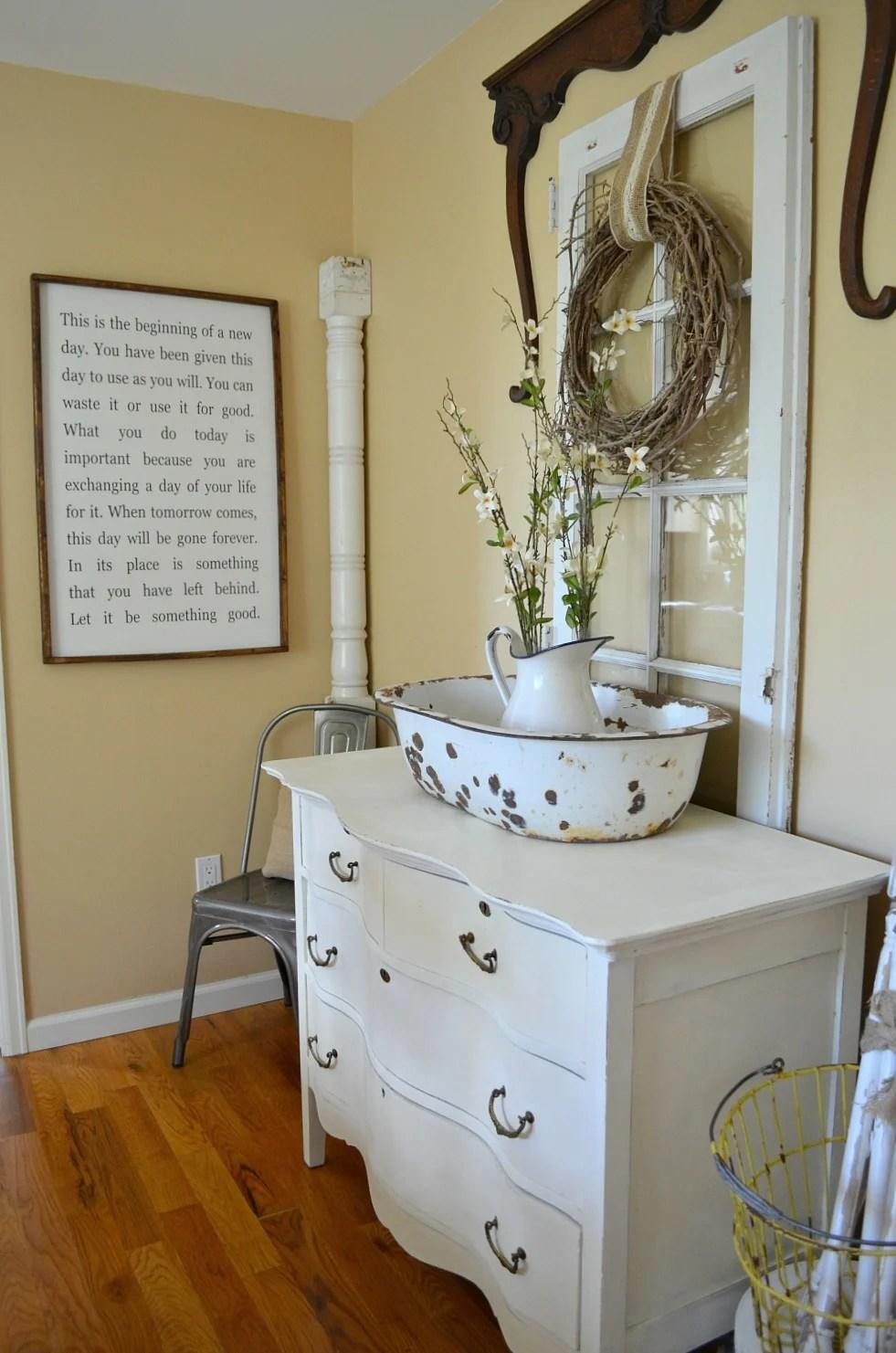 Simple Farmhouse Style Dining Room Little Vintage Nest