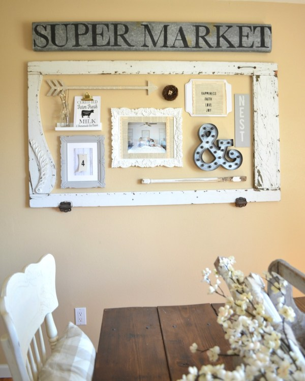 Dining Room Wall - Little Vintage Nest