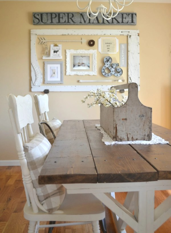 Dining Room Wall - Little Vintage Nest