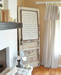 Fall Mantel: Old Books + Pumpkins - Little Vintage Nest