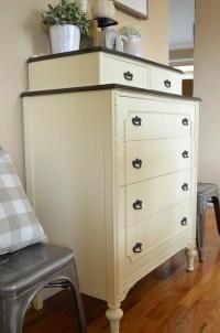 Vintage Dresser Makeover - Little Vintage Nest