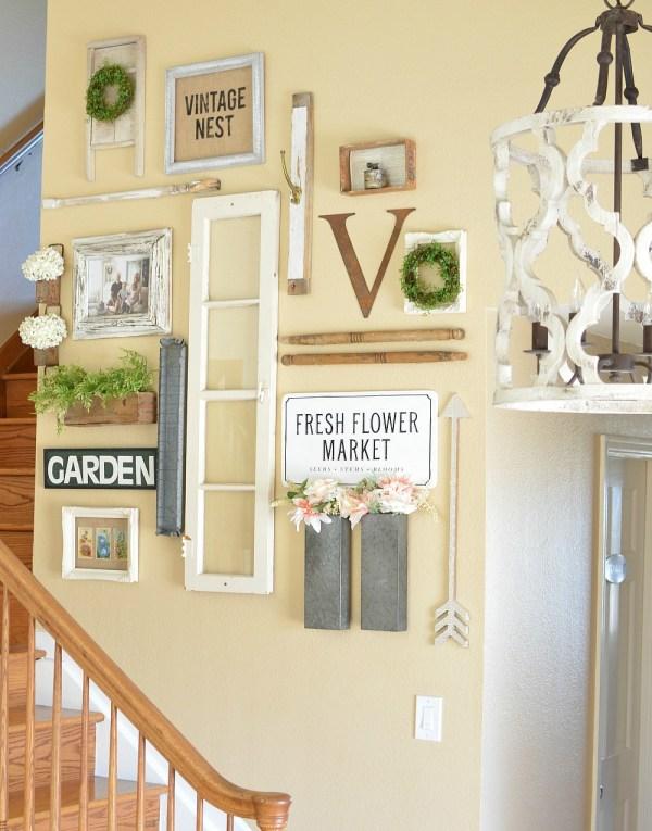 Farmhouse Style Wall Gallery