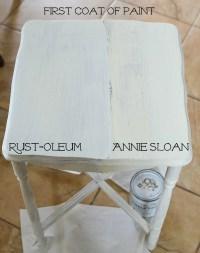 Annie Sloan Chalk Paint vs Rust-Oleum Chalked Paint